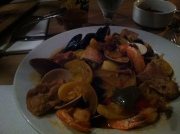 Paella at Sage, downtown Savannah