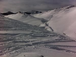 Powder at Valle Nevado