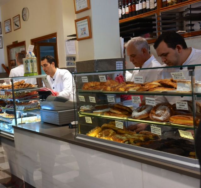 Crazy good pastry shop
