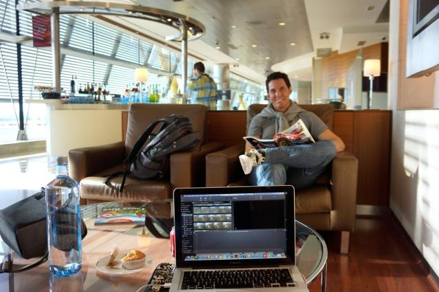 Madrid business lounge