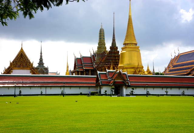 Grand Palace from the outside