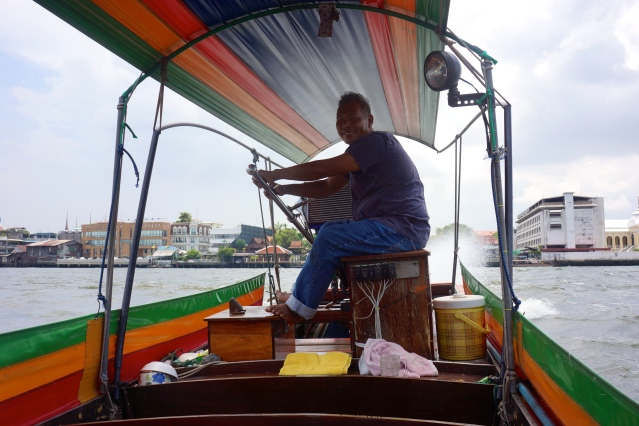 Our misguided long tail boat ride in Bangkok