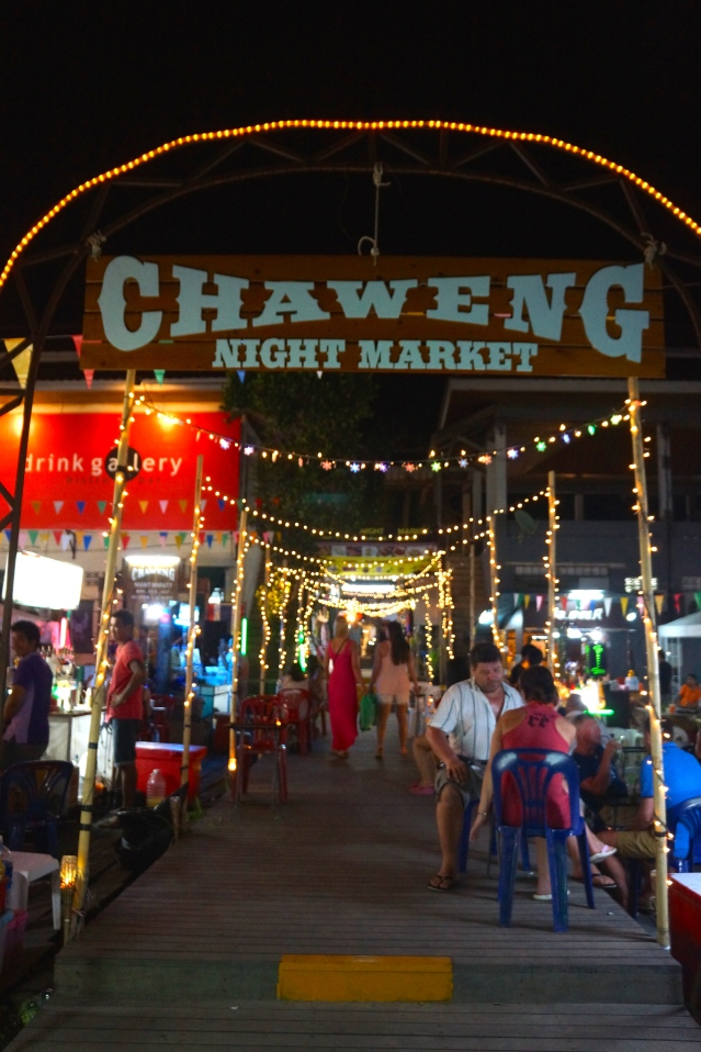 Entrance to Chaweng Night Market