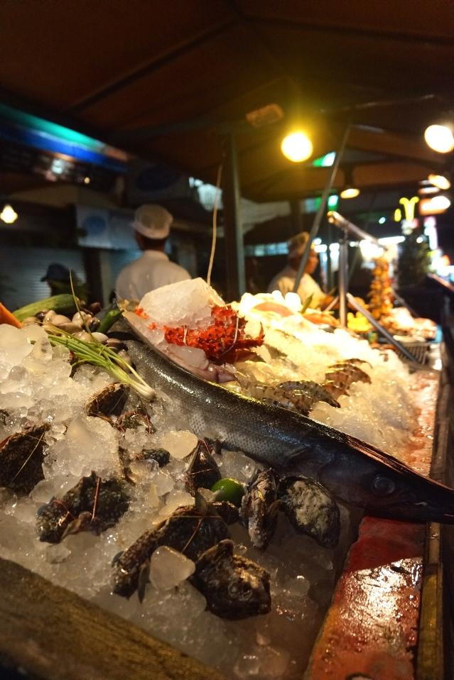Seafood displays