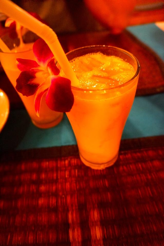 Flowery drink:)