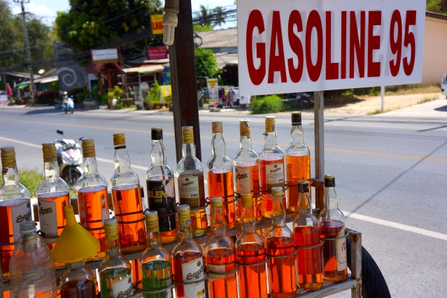 Gasoline!