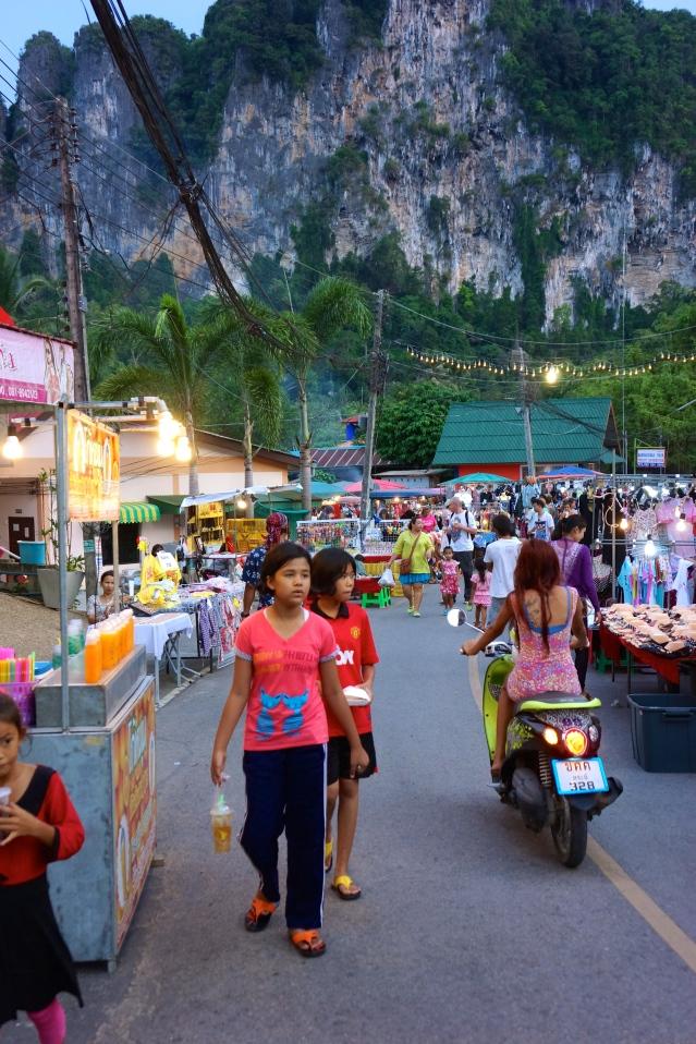 Market in Krabi