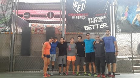 The Endurance Trainer Course crew in Lima